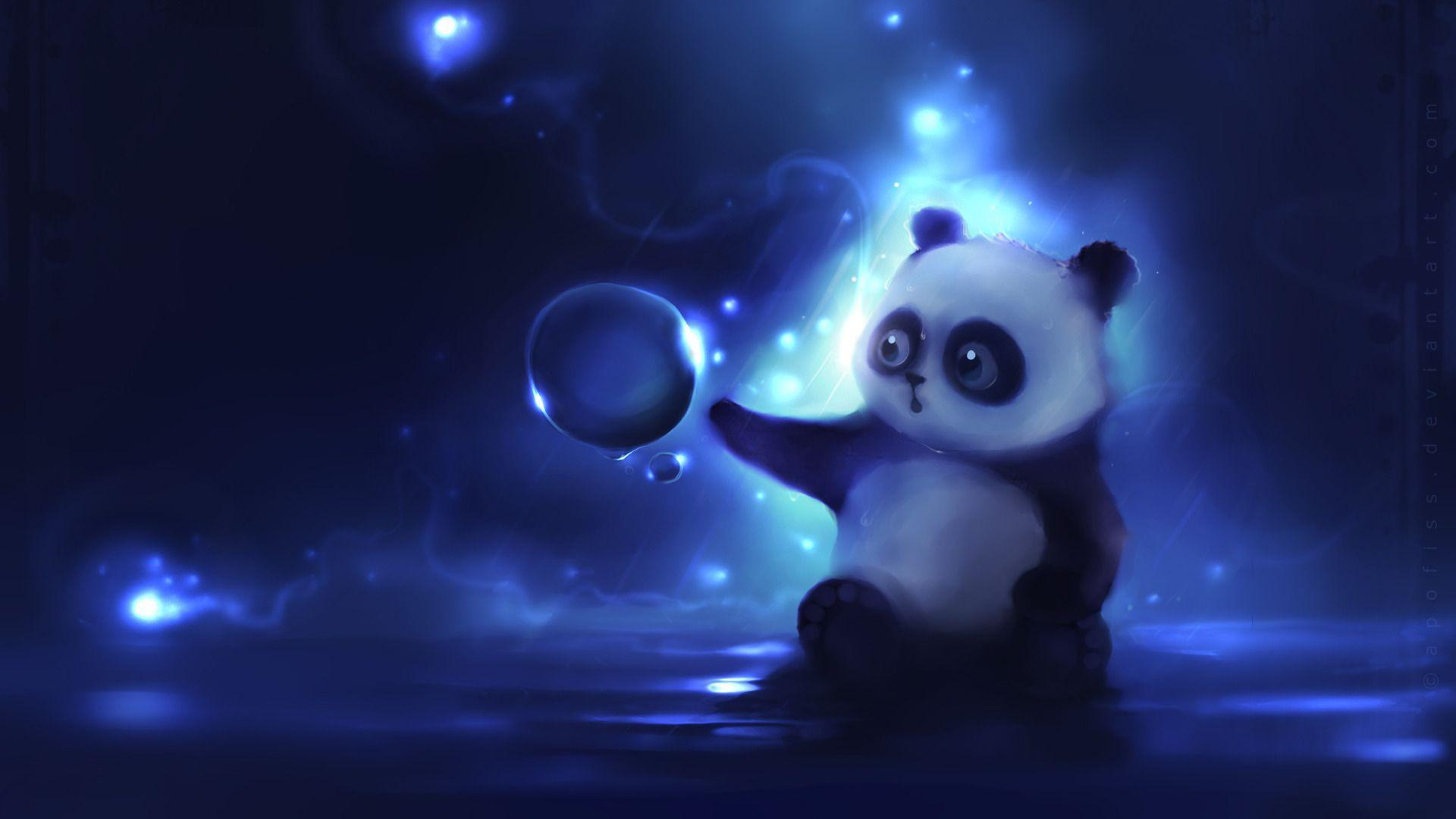 Desktop Panda Bear Pics Cartoon Dowload - Litle Pups
