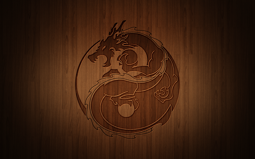 Yin Yang Dragon By Drawder On DeviantArt