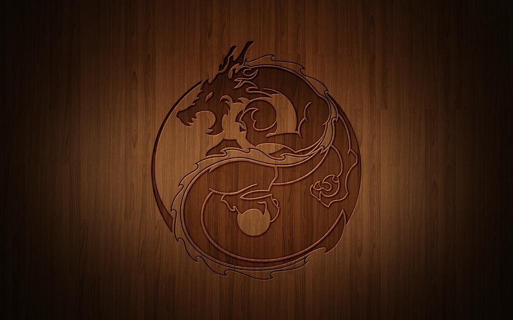 Dragon Yin Yang Wallpapers Wallpaper Cave