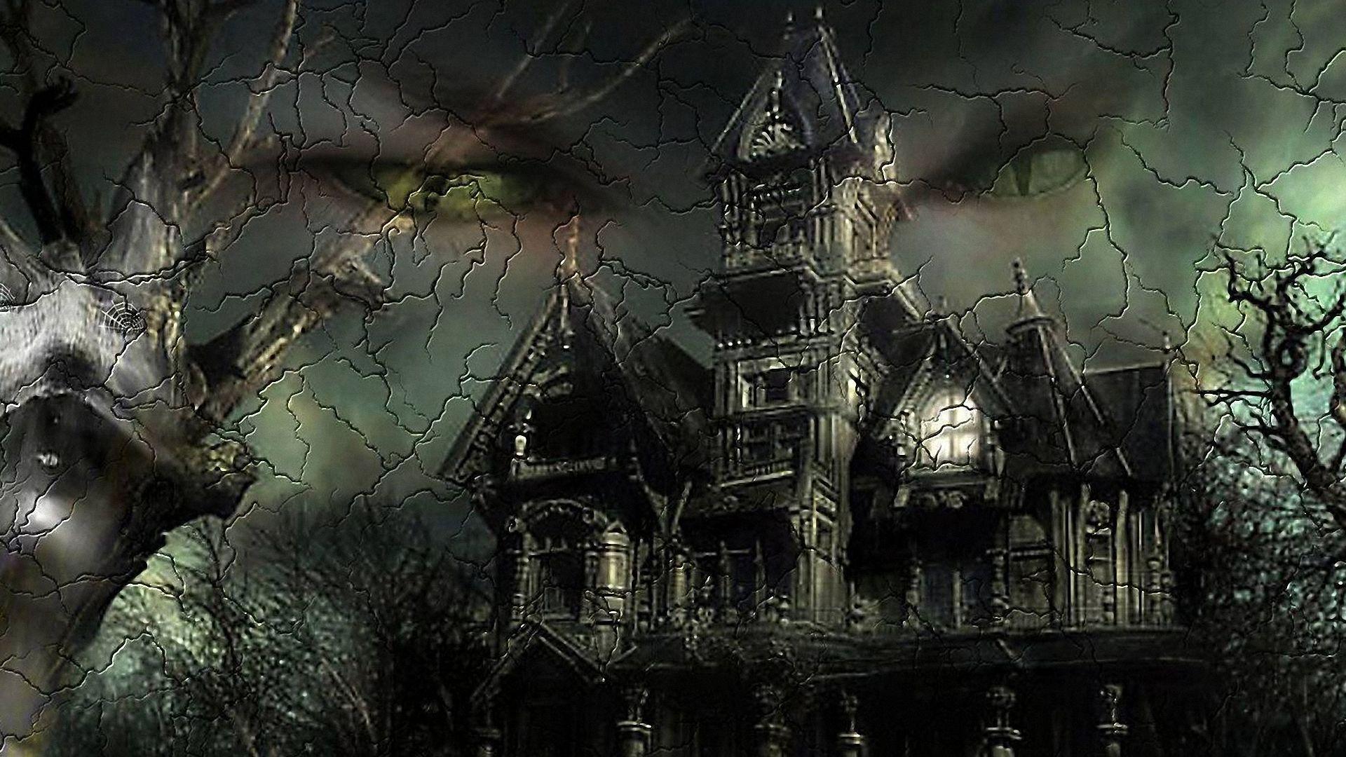 com wallpapers halloween house windows - photo #37
