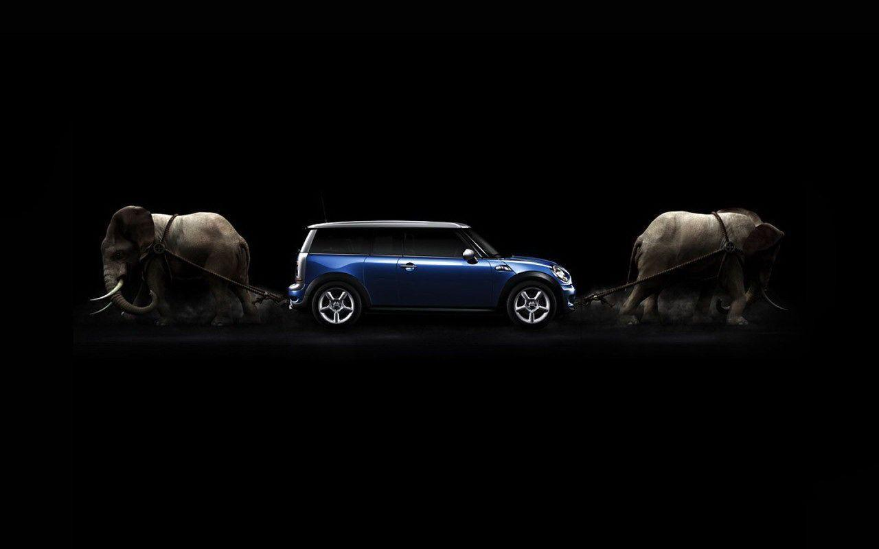 Mini Cooper S Blue Wallpapers