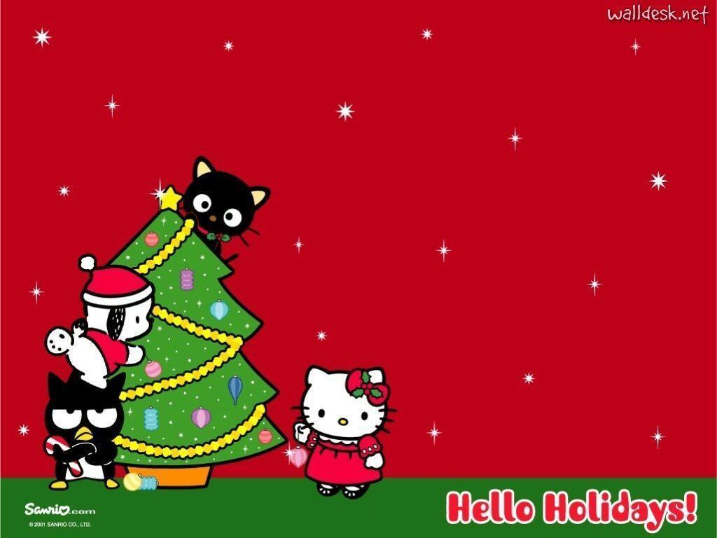 Hello Kitty Christmas Ipad Wallpaper images  Hdimagelib