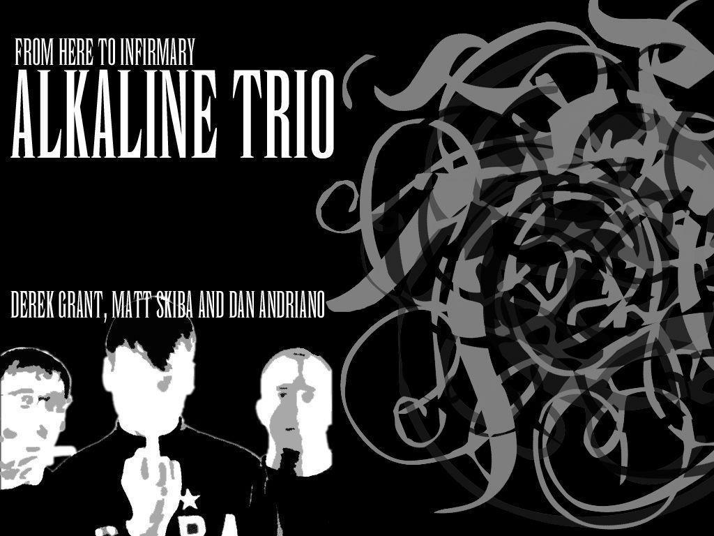 My Free Wallpapers - Music Wallpaper : Alkaline Trio
