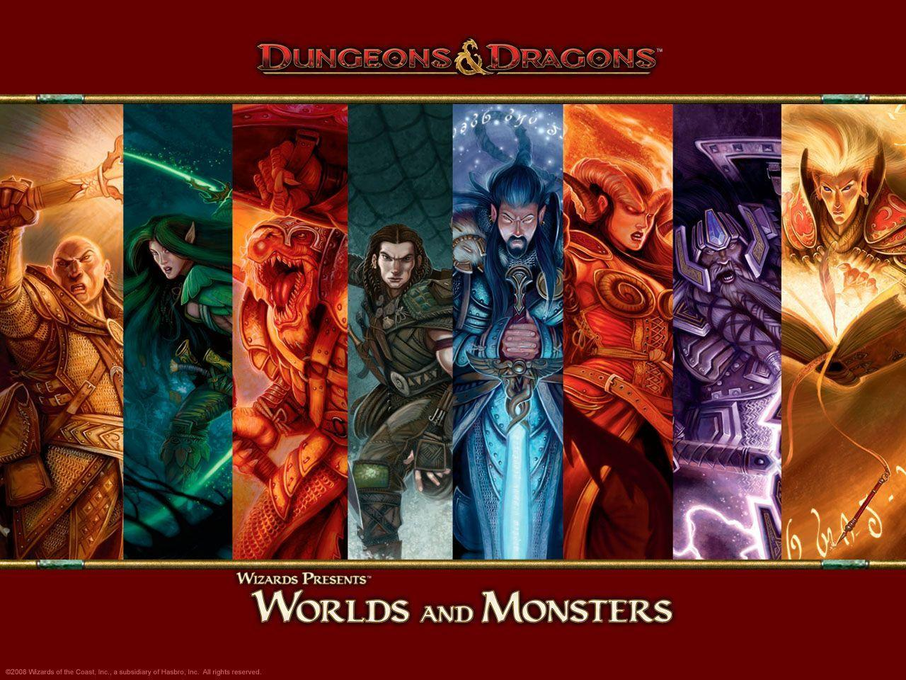 The Dungeons And Dragons Wallpapers