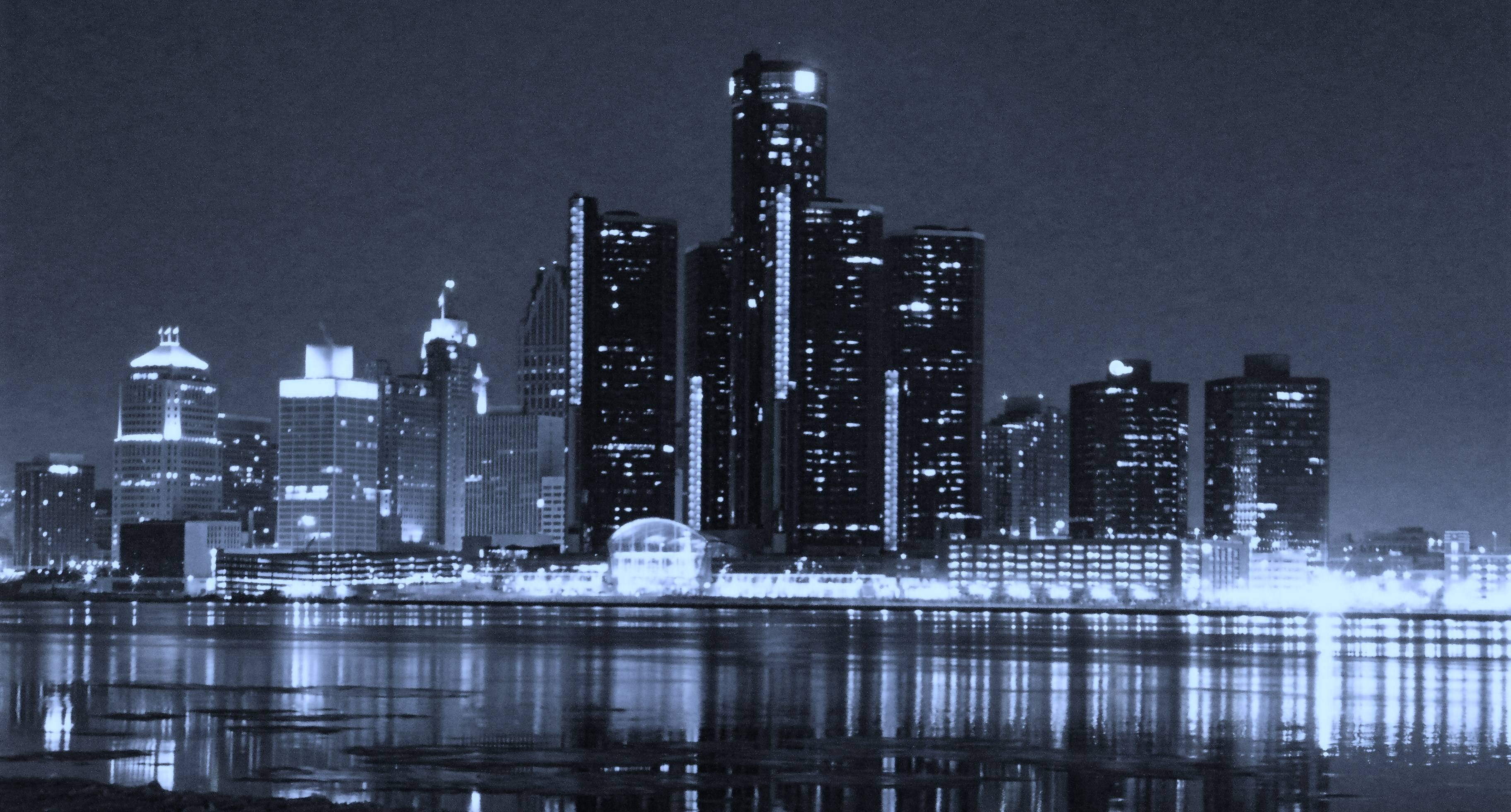 Detroit Skyline Wallpapers - Wallpaper Cave