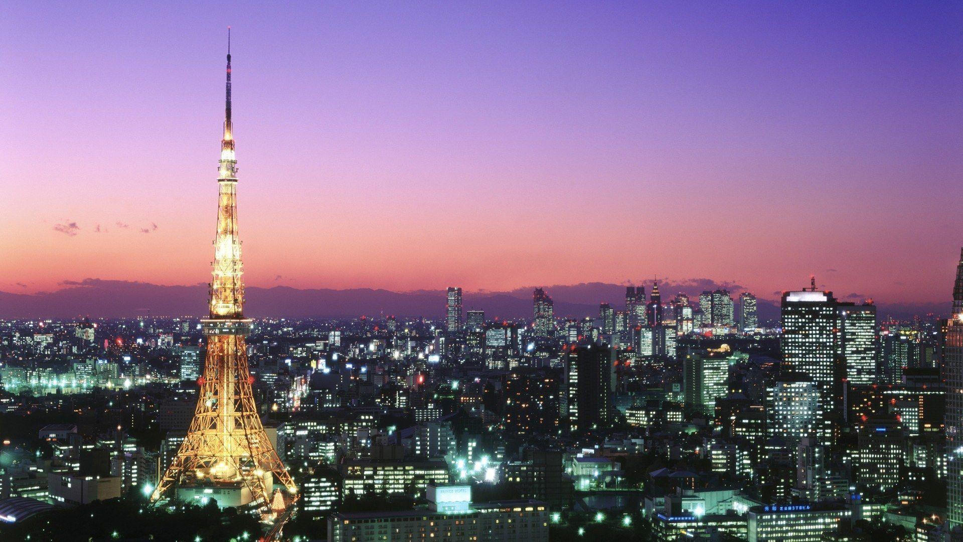 Tokyo Tower Wallpaper HD #20037) wallpaper - Wallatar.com