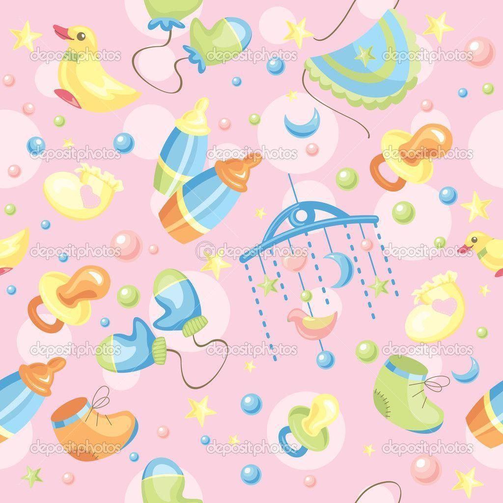 Unisex baby backgrounds