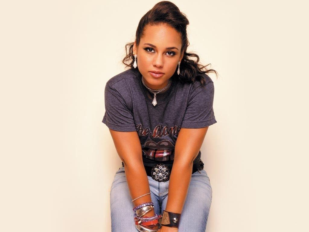 Wallpapers > Female Celebrities > ALICIA KEYS WALLPAPER, 1024 X ...