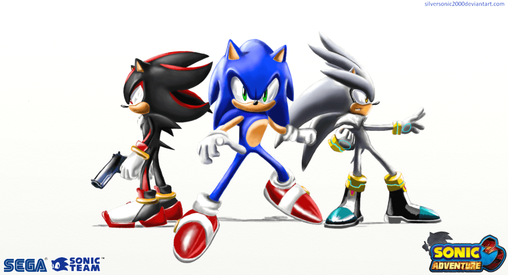 Sonic and the hedgehogs wallpapers by silversonic2000