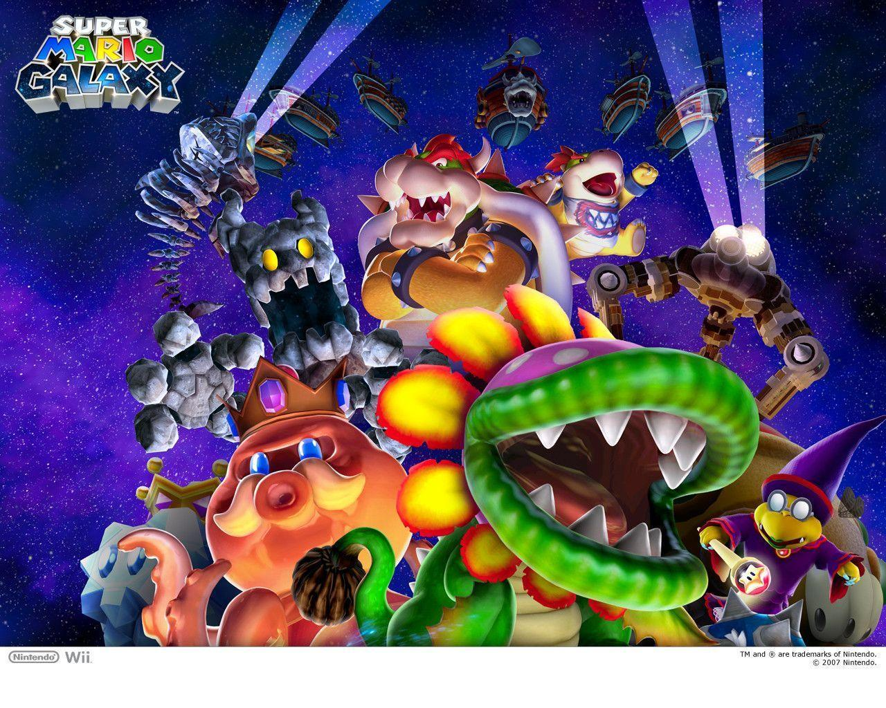 Super Mario Galaxy 2 Wallpapers HD - Wallpaper Cave
