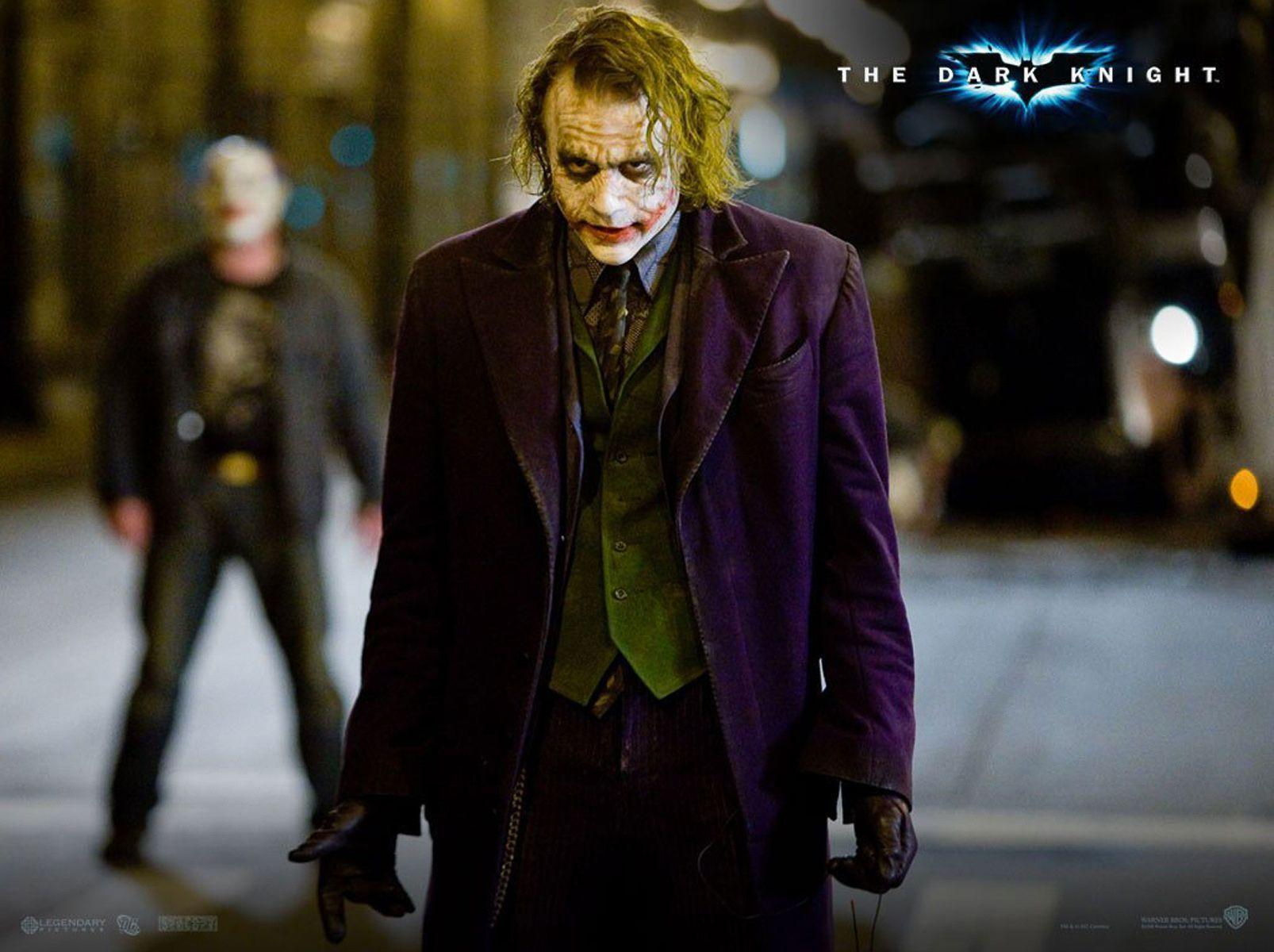 Joker in the Dark Knight HQ Wallpaper Download | DC Wallpapers