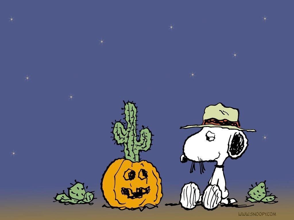 Snoopy Halloween Wallpapers Wallpaper Cave
