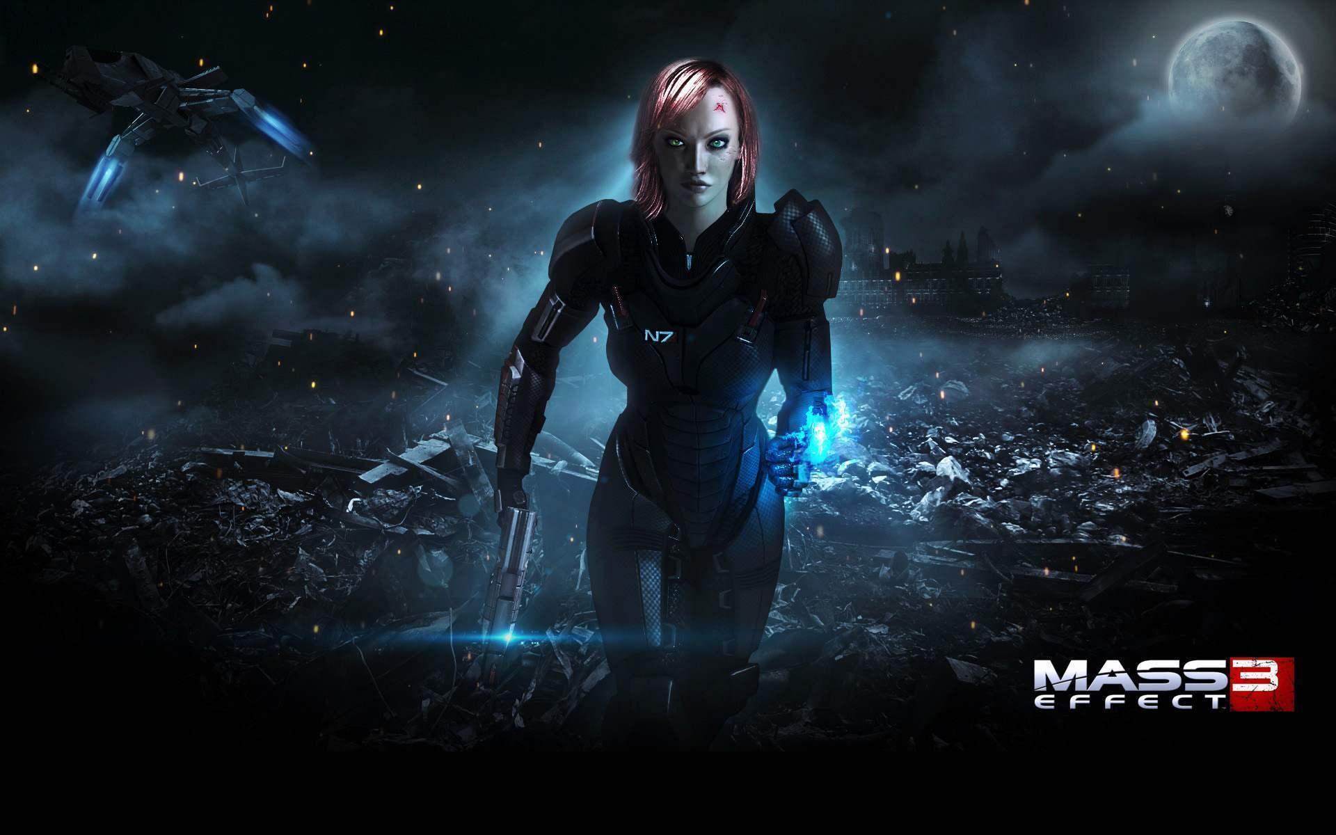 Mass Effect Desktop Wallpapers - Wallpaper Cave