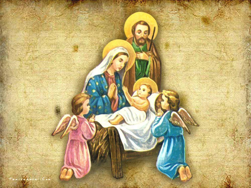 Religious Image of Christmas, wallpaper, Religious Image of