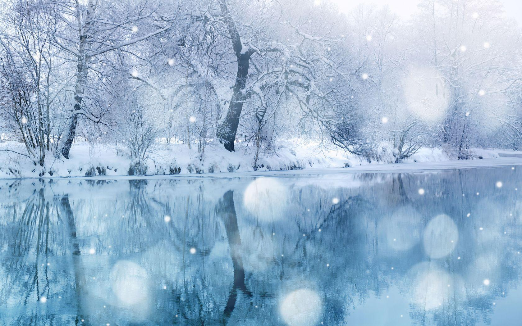 Snow Beautiful Widescreen 2 HD Wallpapers