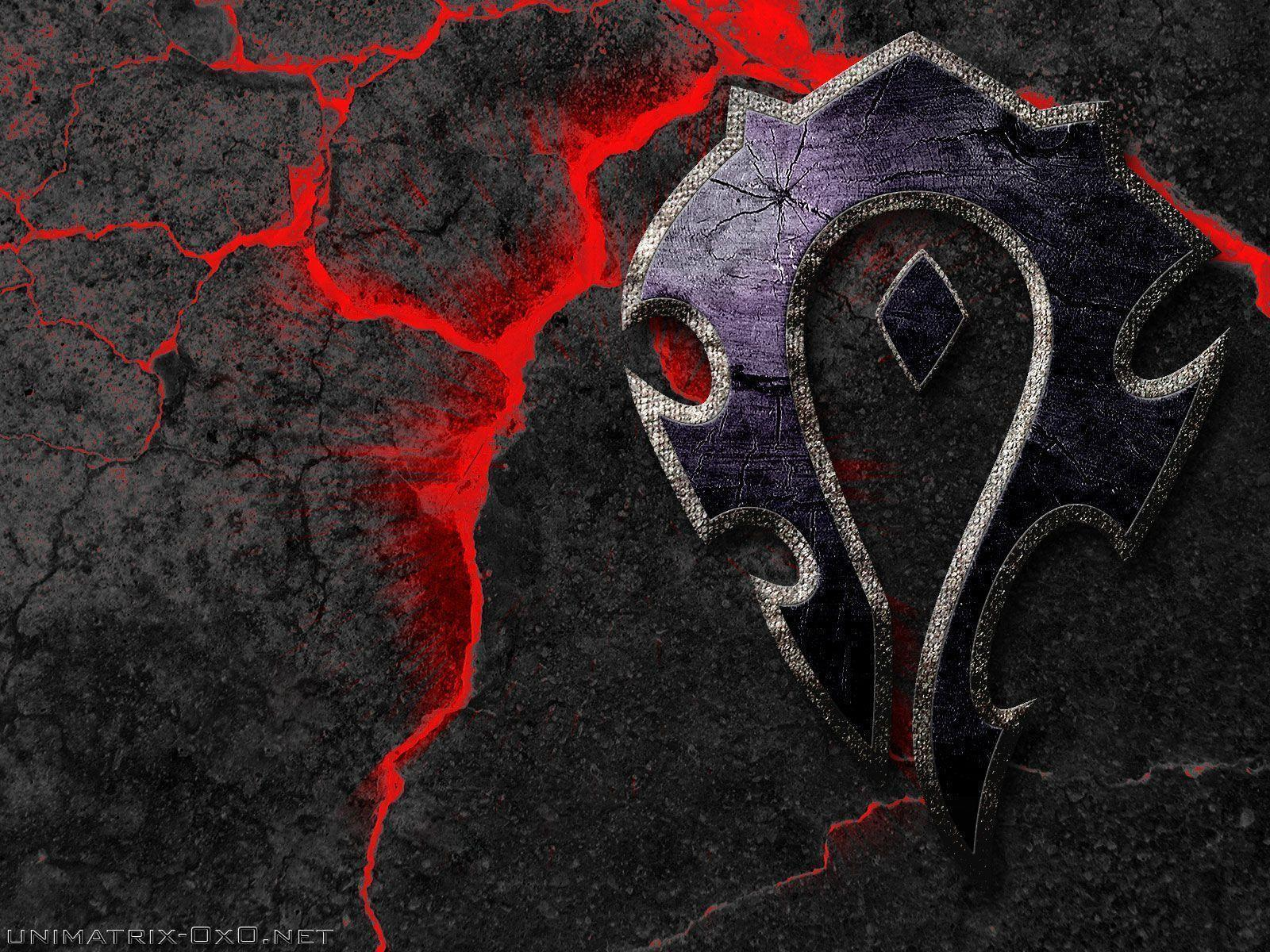Pix For > Horde Symbol Wallpapers