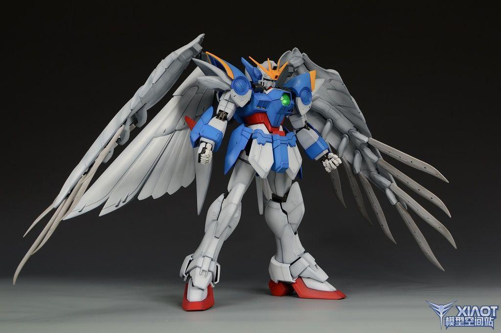 PG Wing Gundam Zero Custom: Assembled, Painted. Full Photoreview