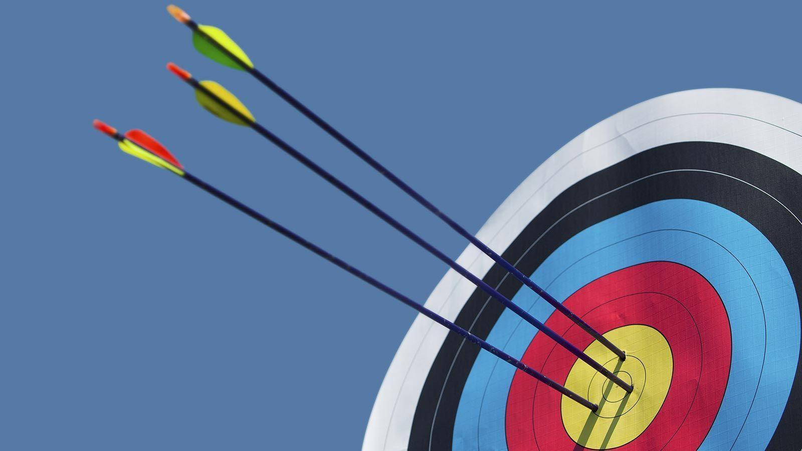 Images For > Archery Target Wallpaper