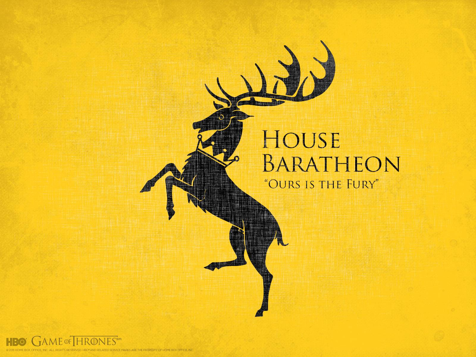 HBO: Game of Thrones: Extras: House Wallpapers