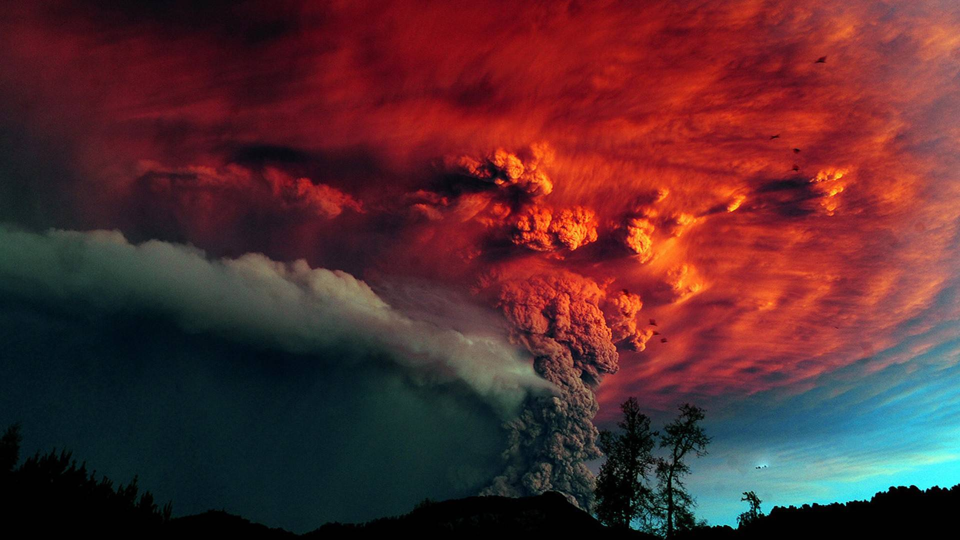 volcano eruption wallpaper hd - photo #31