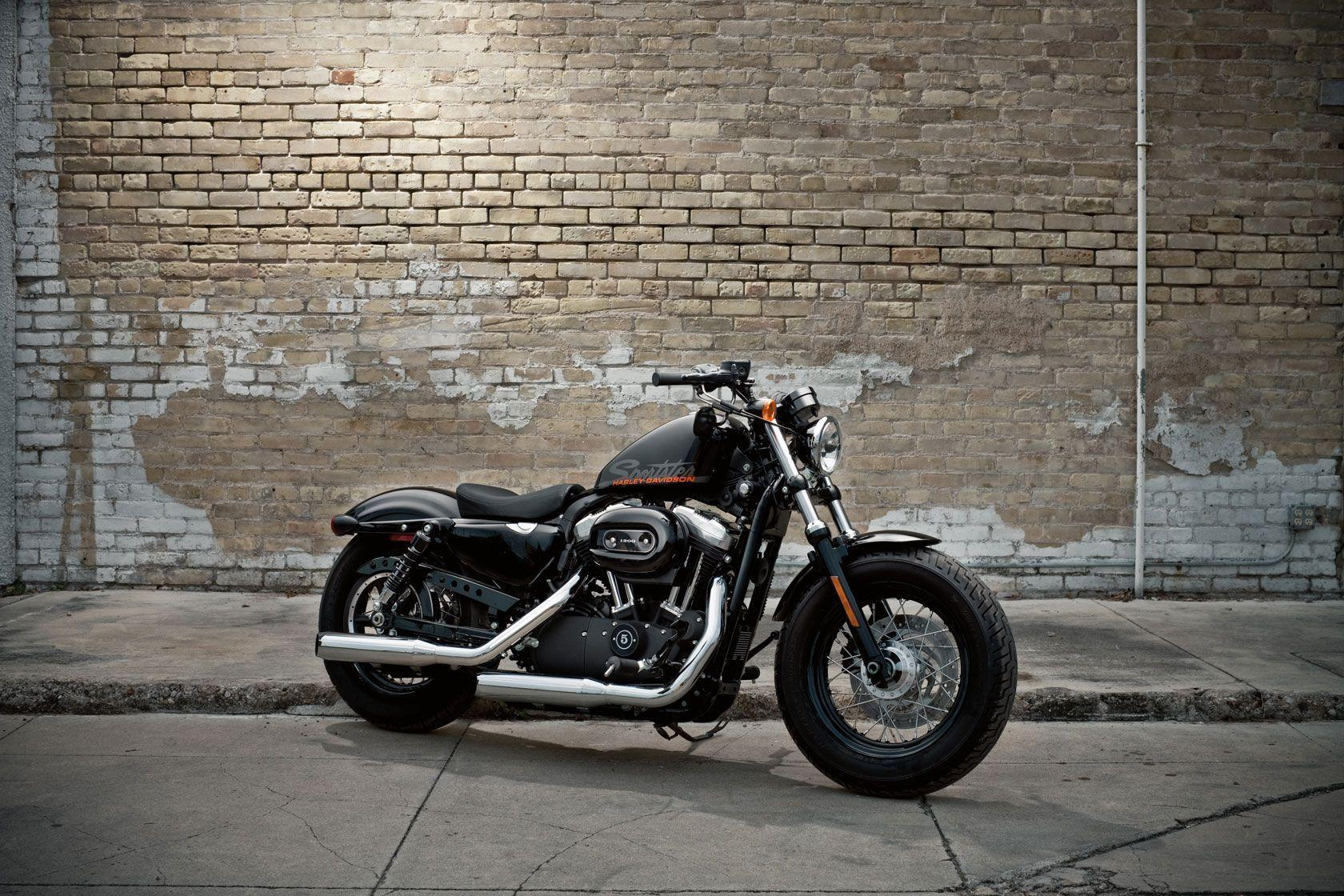 2010 Harley Davidson Sportster Forty Eight Wallpaper