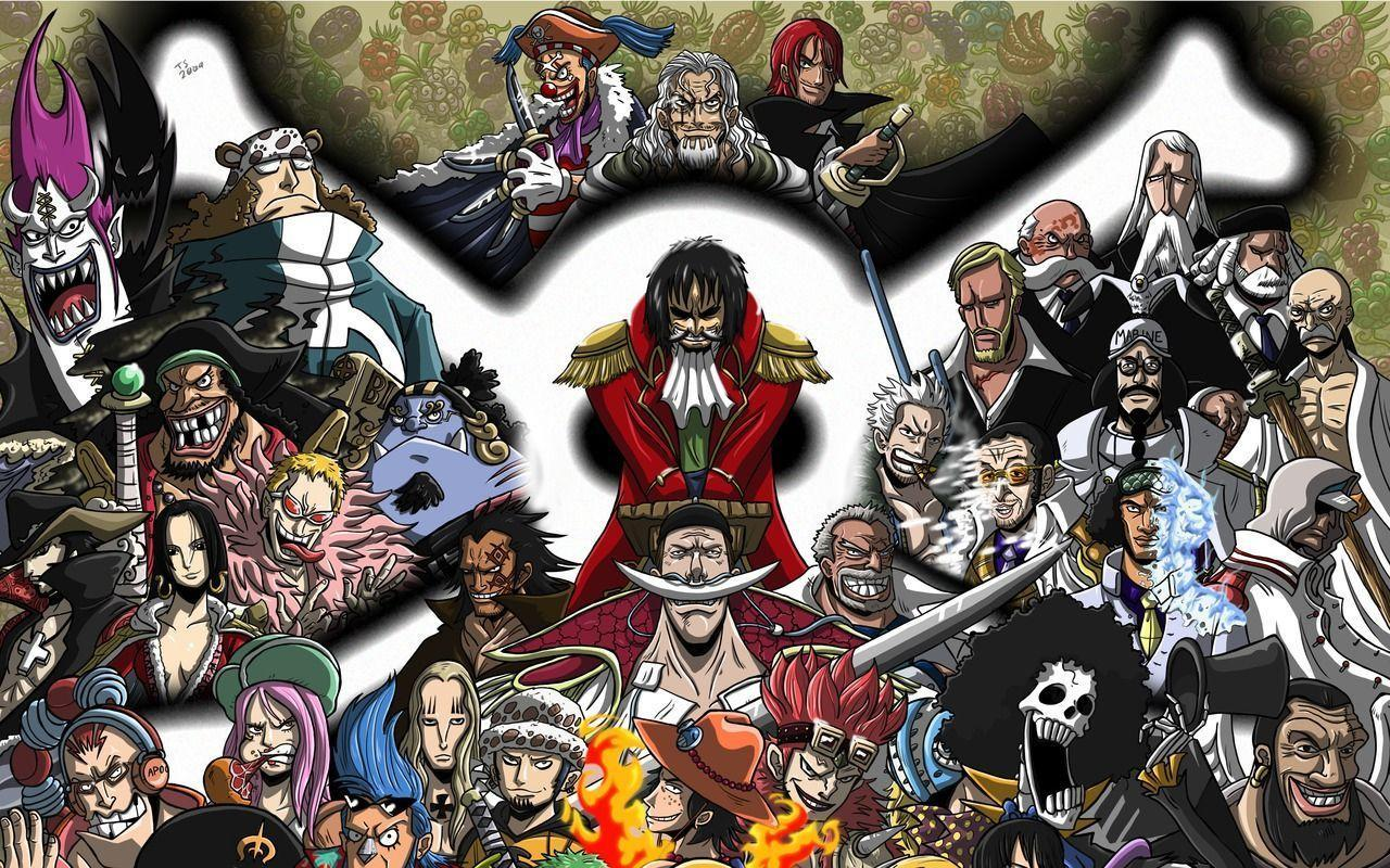 462 One Piece Wallpapers