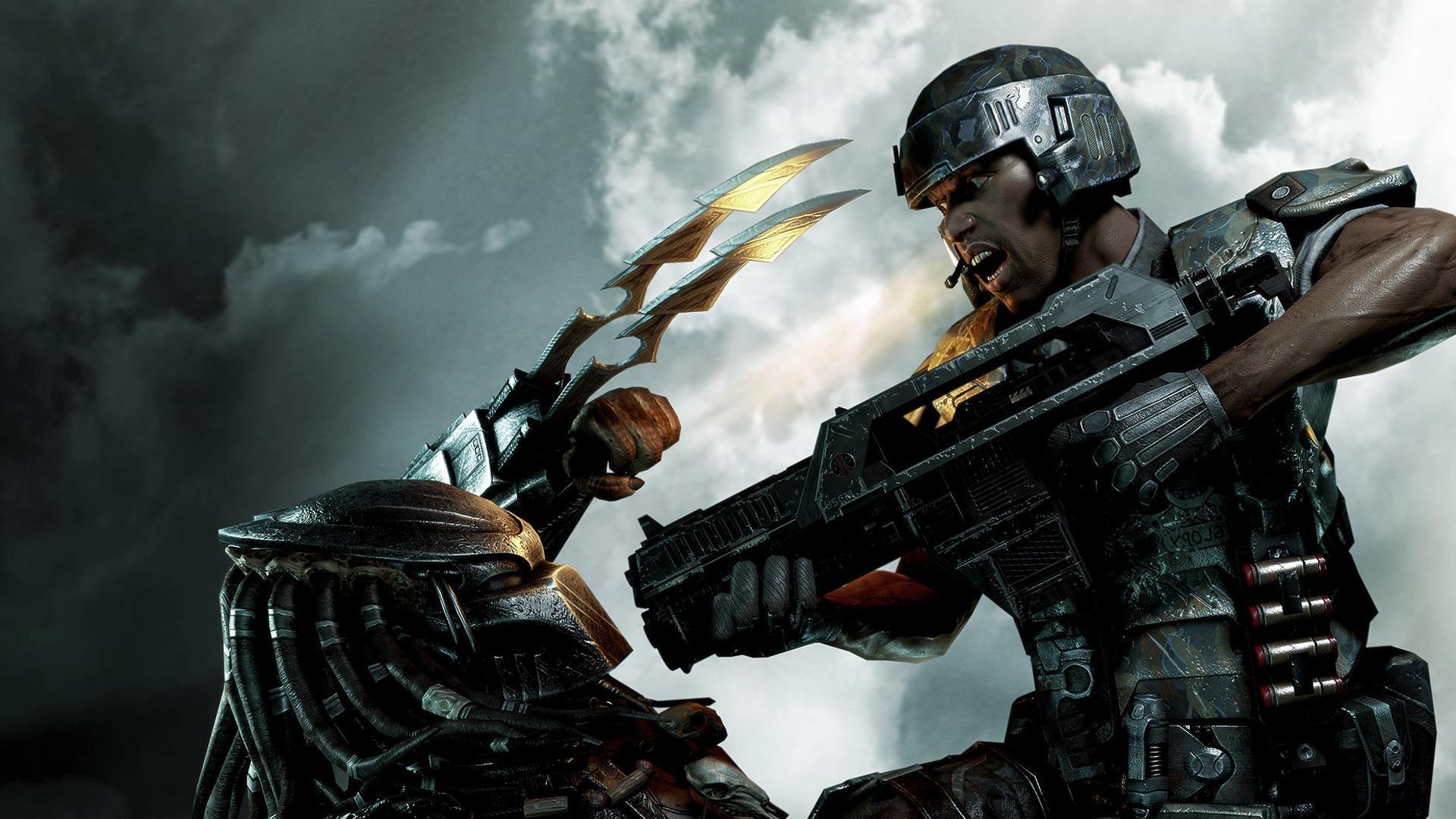 Aliens Vs Predator Xbox 360 wallpaper - 137371  |Alien Vs Predator Xbox 360 Wallpaper
