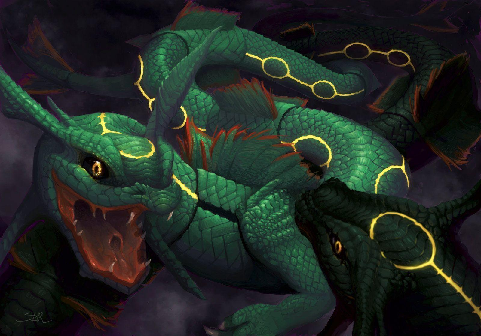 Pokemon Wallpapers Rayquaza - Wallpaper Cave