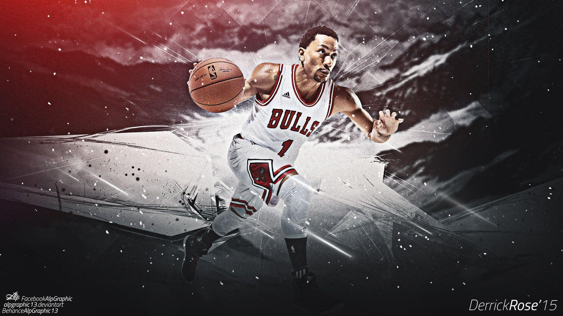 Derrick rose wallpapers 2015 hd wallpaper cave derrick rose 1 chicago bulls 2015 wallpaper wide or hd male voltagebd Image collections