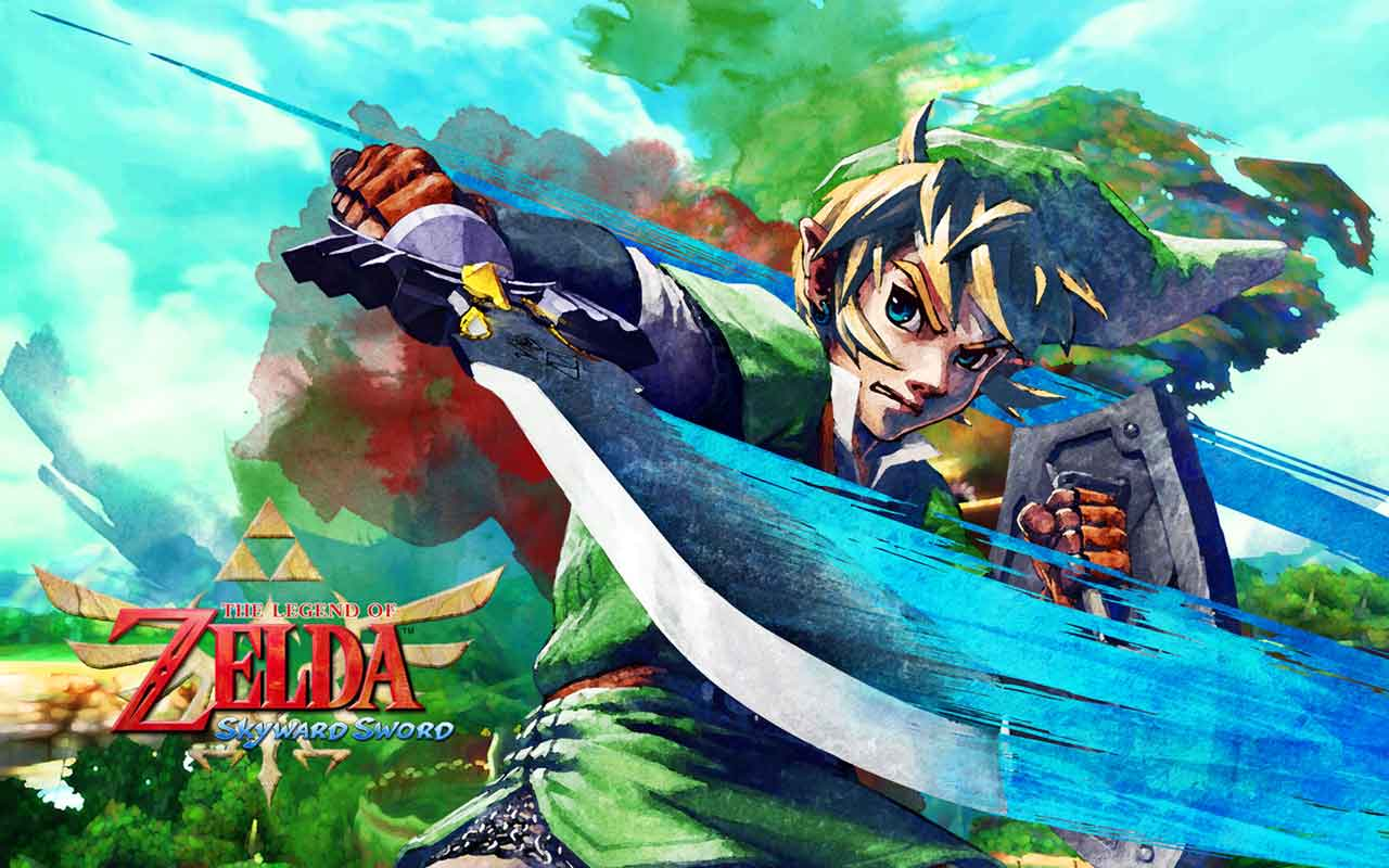 Legend Of Zelda Skywar... Zelda Skyward Sword Wallpaper