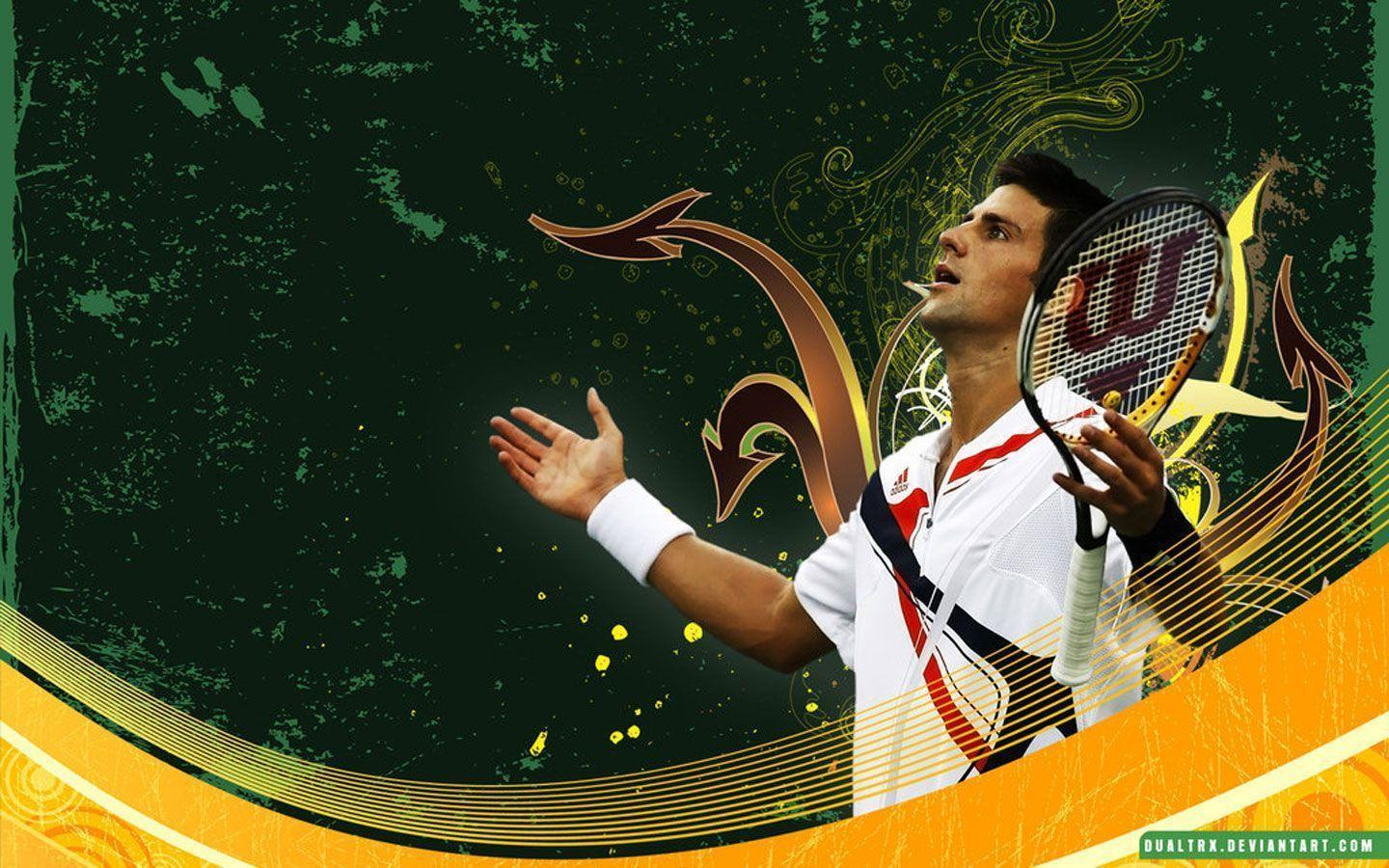 Novak Djokovic - Tennis Wallpapers
