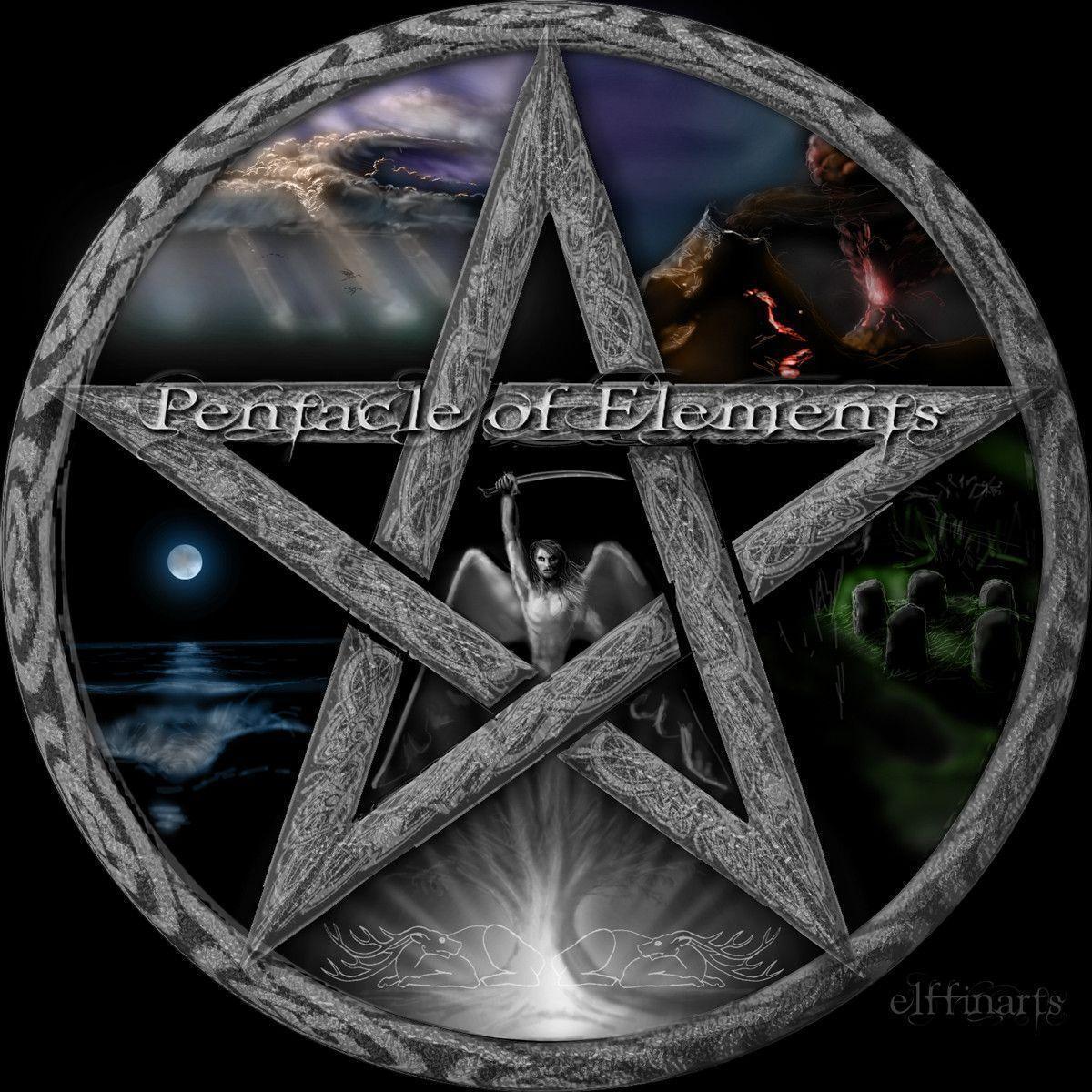 wiccan pentagram wallpaper - photo #14