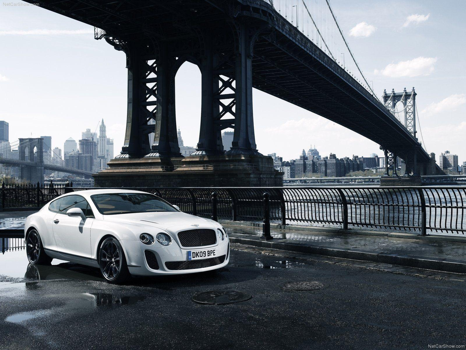 Wallpapers For > White Bentley Wallpapers