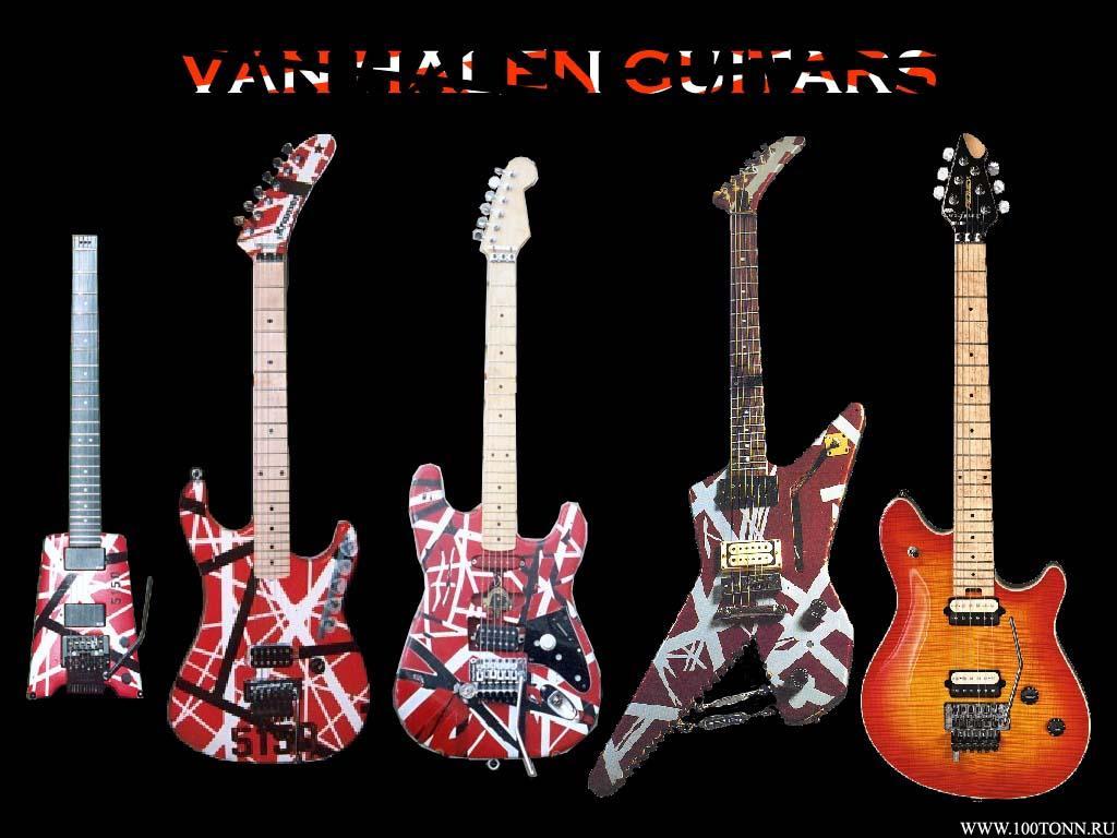 Van Halen Guitar Backgrounds Wallpaper Cave