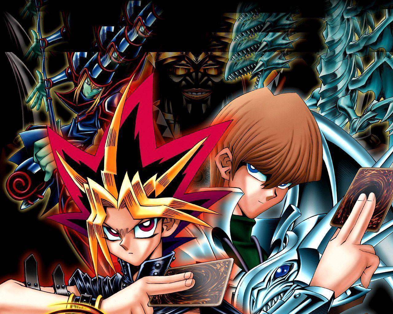 Yu Gi Oh Playing Cards in Cartoons