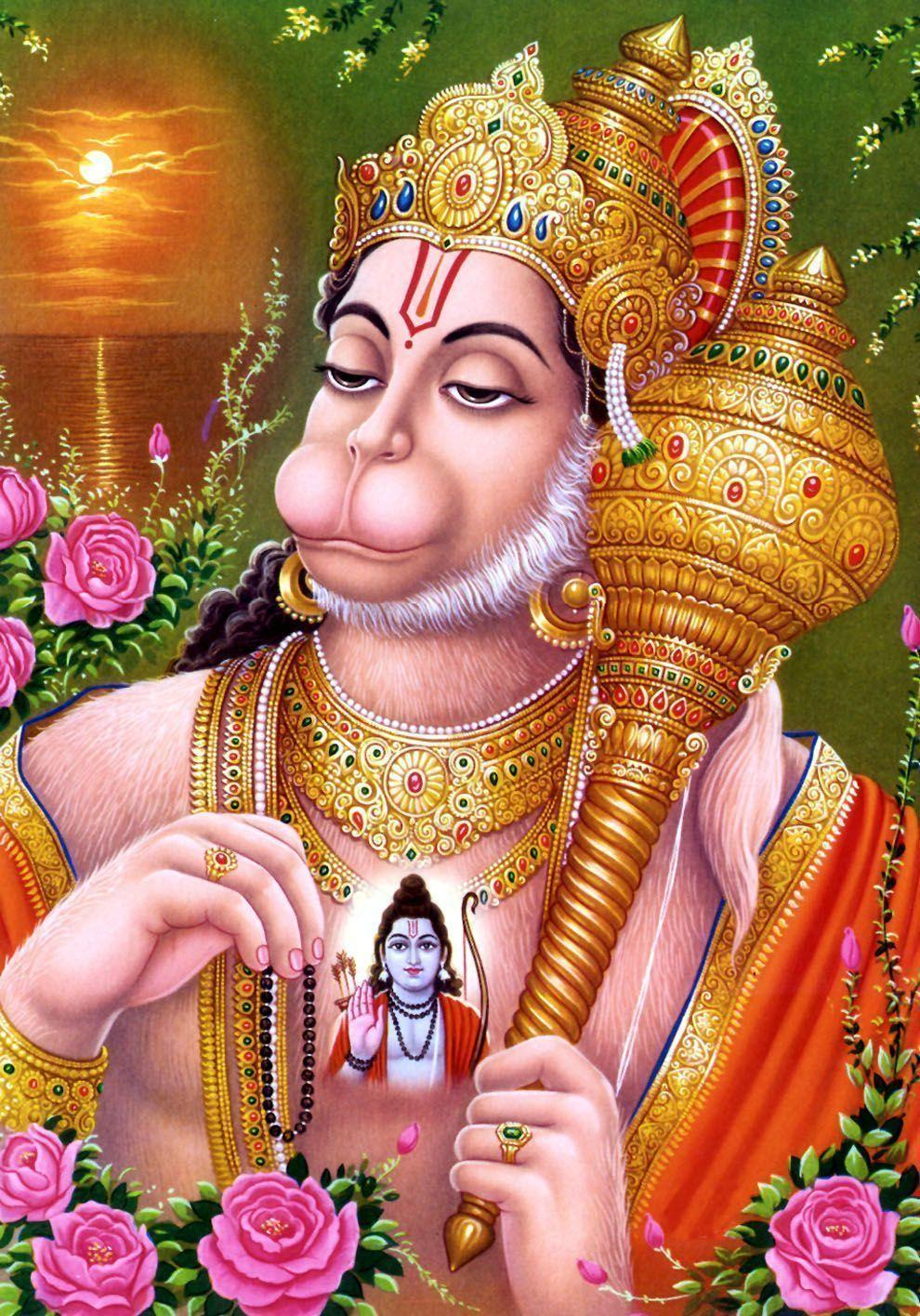 Hanuman dada HD wallpaper - Hindu God wallpaper