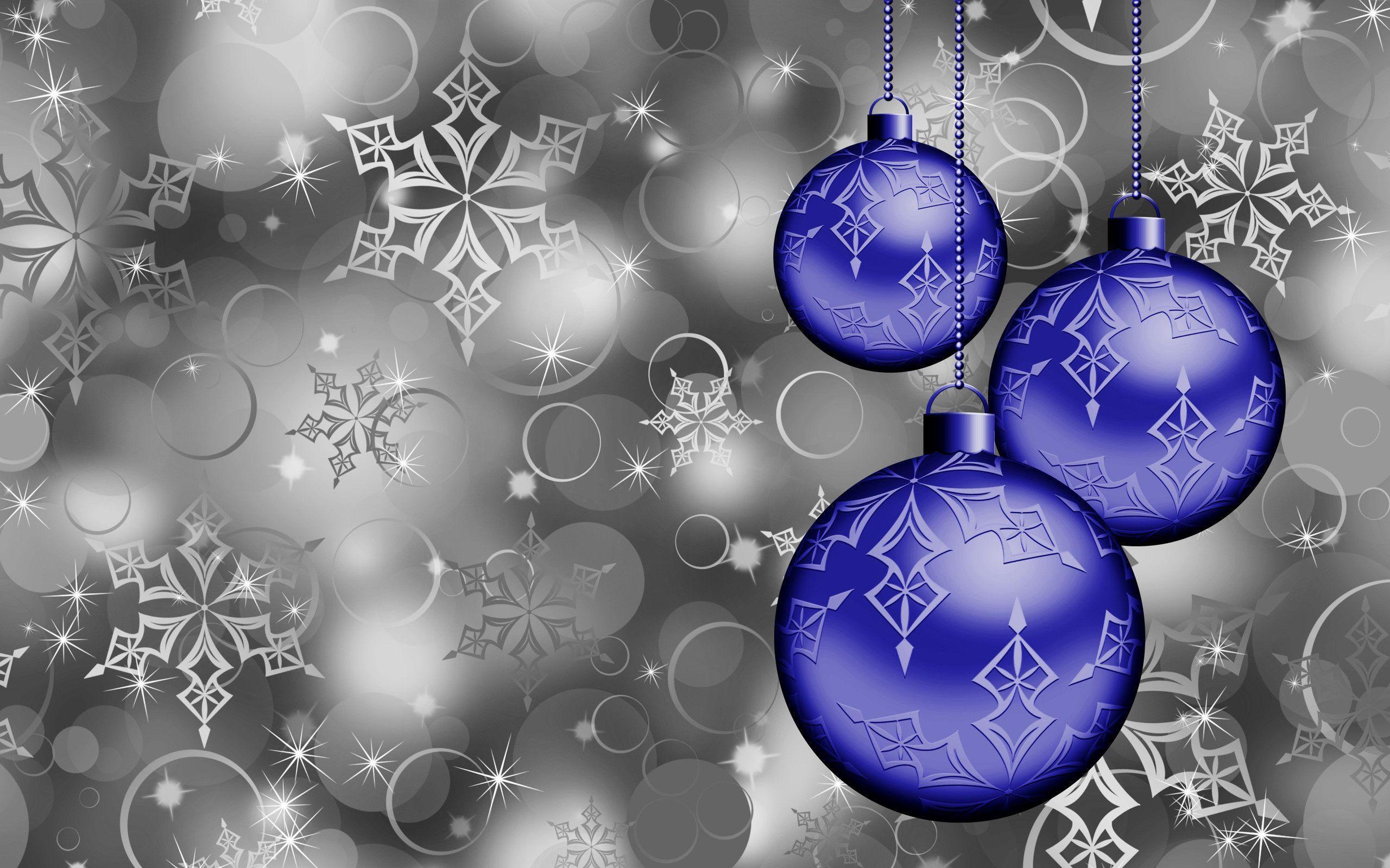 Christmas ornaments wallpaper #