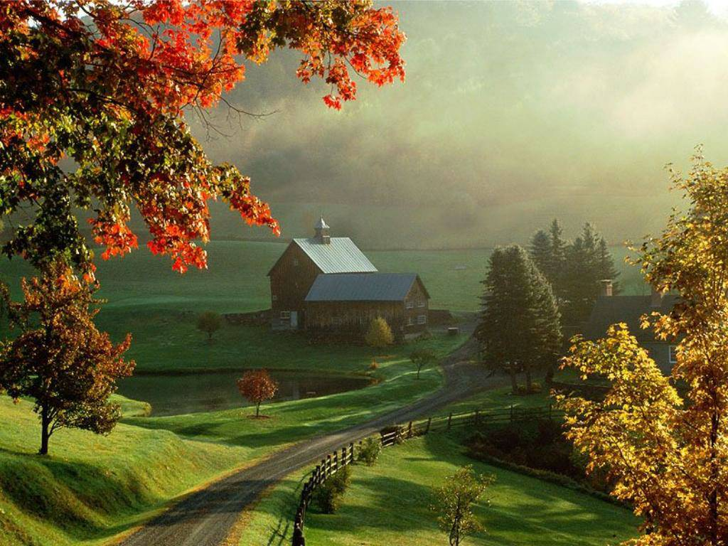 25 Scenic Autumn Desktop Wallpapers | Best Design Options