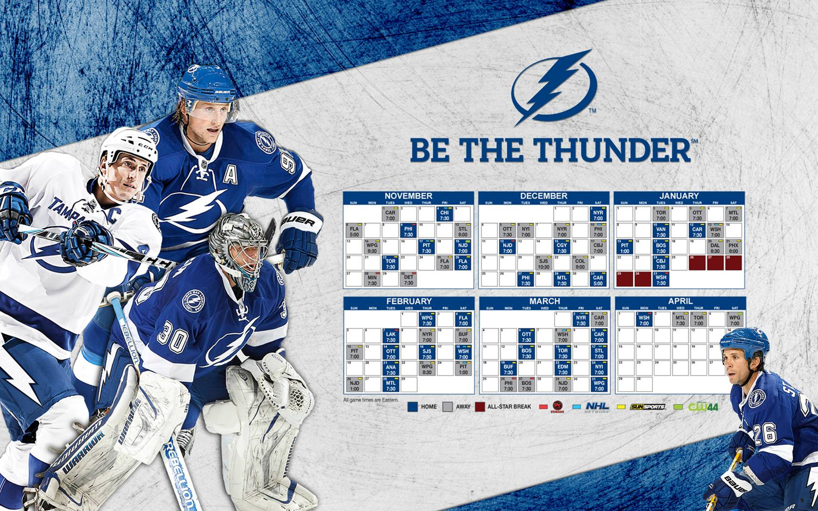 Tbl 2017 12 Schedule Tampa Bay Lightning Wallpaper 28452527