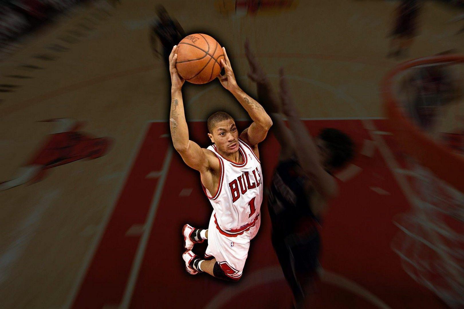 derrick rose wallpaper dunk - photo #6