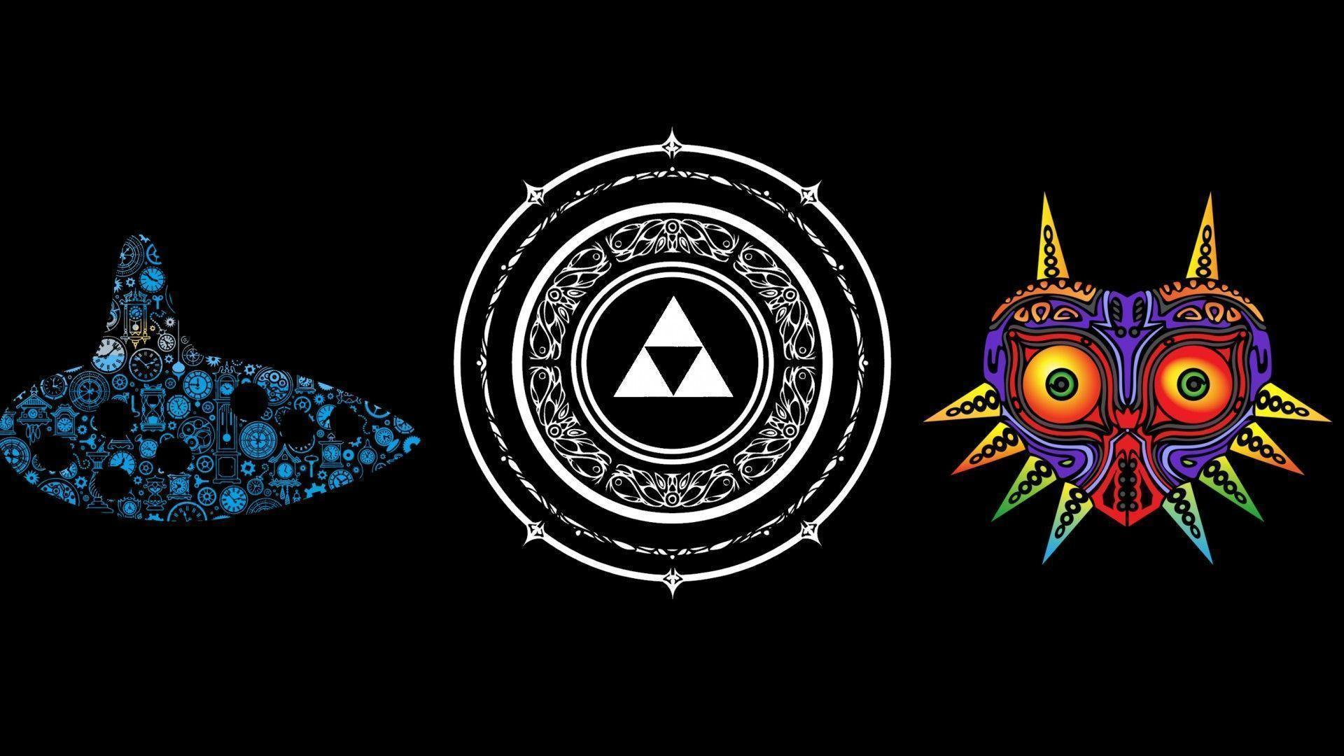 Majora S Mask Desktop Background: Legend Of Zelda Desktop Wallpapers