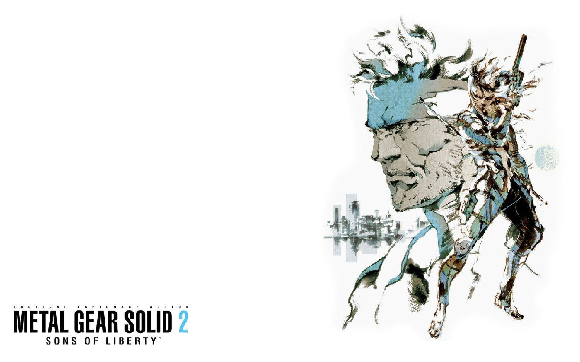 Metal Gear Solid 2 Wallpapers Wallpaper Cave