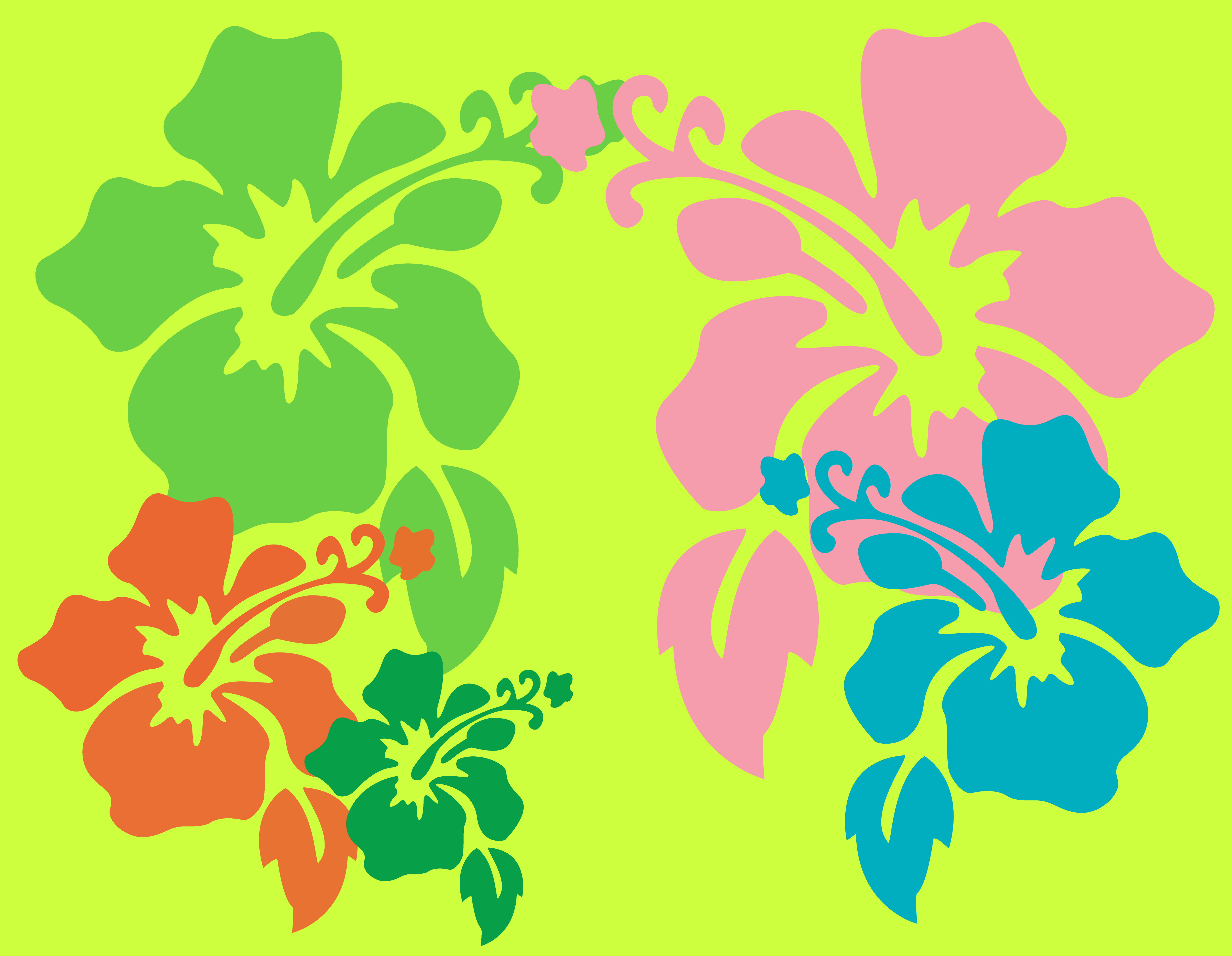 Hawaiian Flower Wallpaper by dtgraphicsandprints on DeviantArt