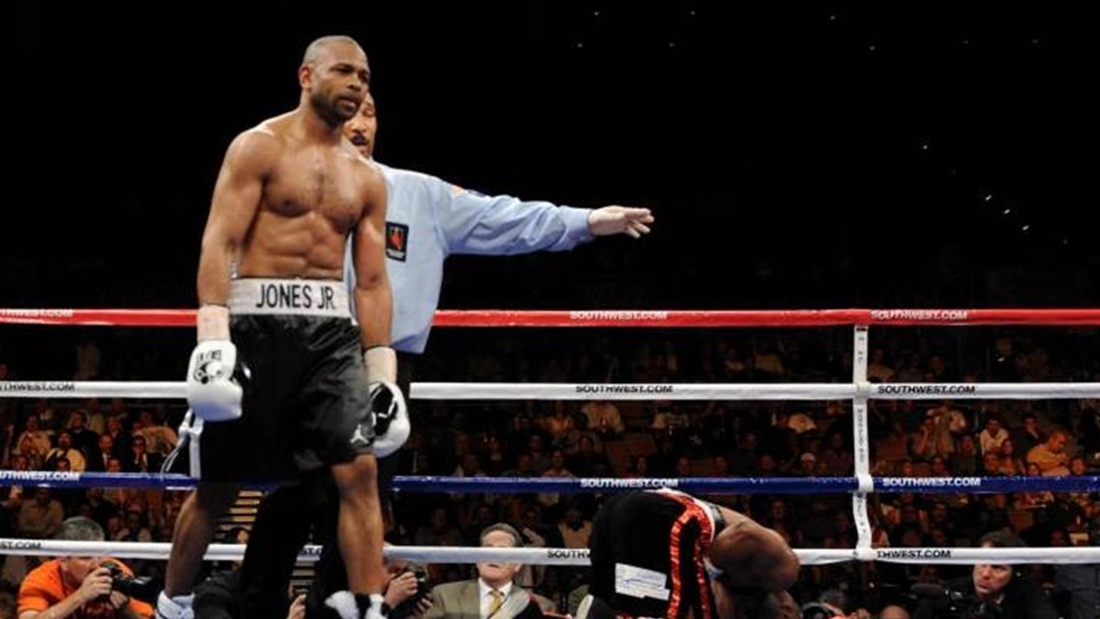 Обои для рабочего стола бокс рой джонс 7