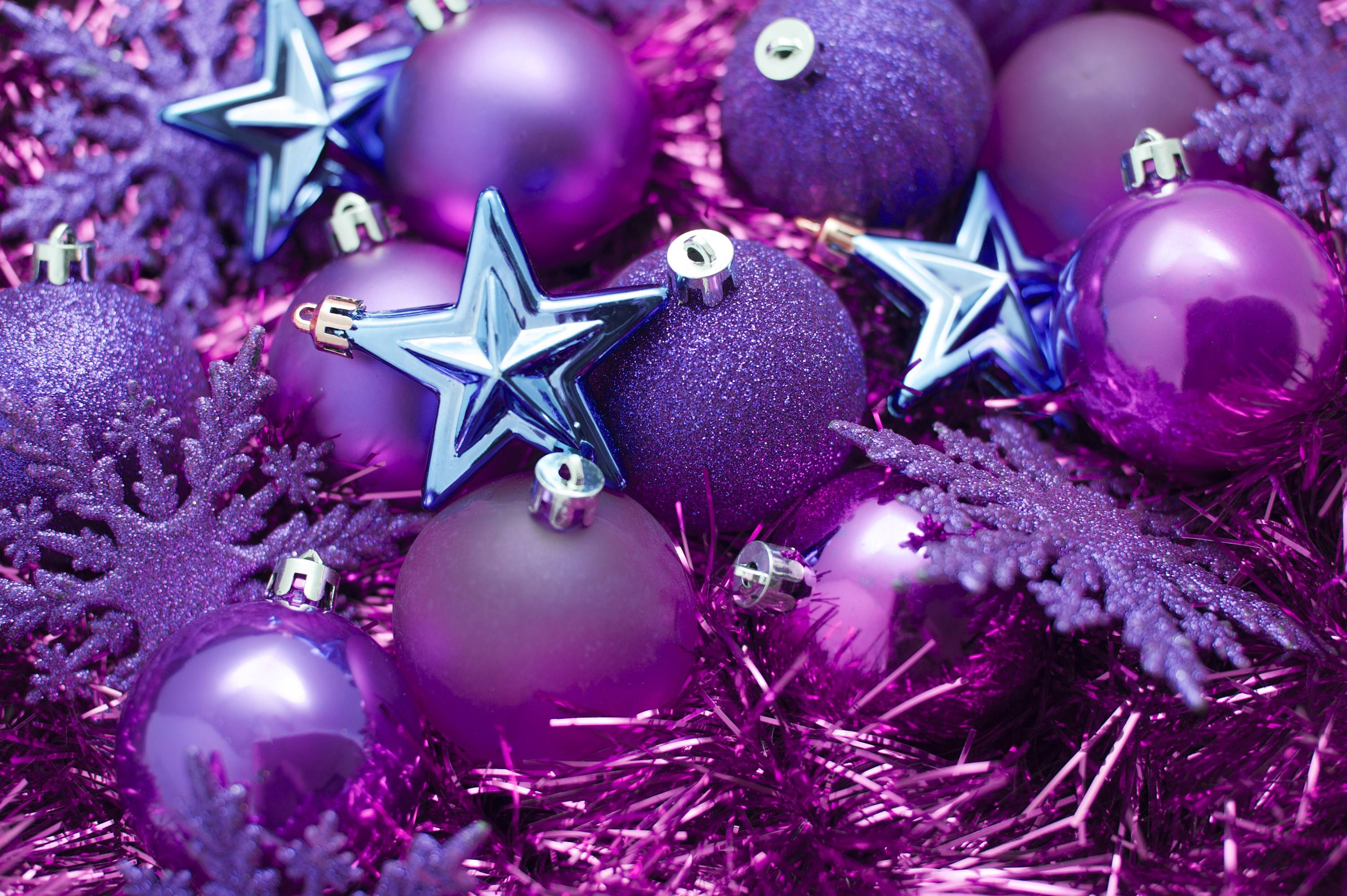 Purple Christmas Backgrounds - Wallpaper Cave