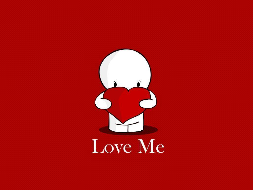 Valentines Day wallpaper Love Me - Splendid Wallpaper HD
