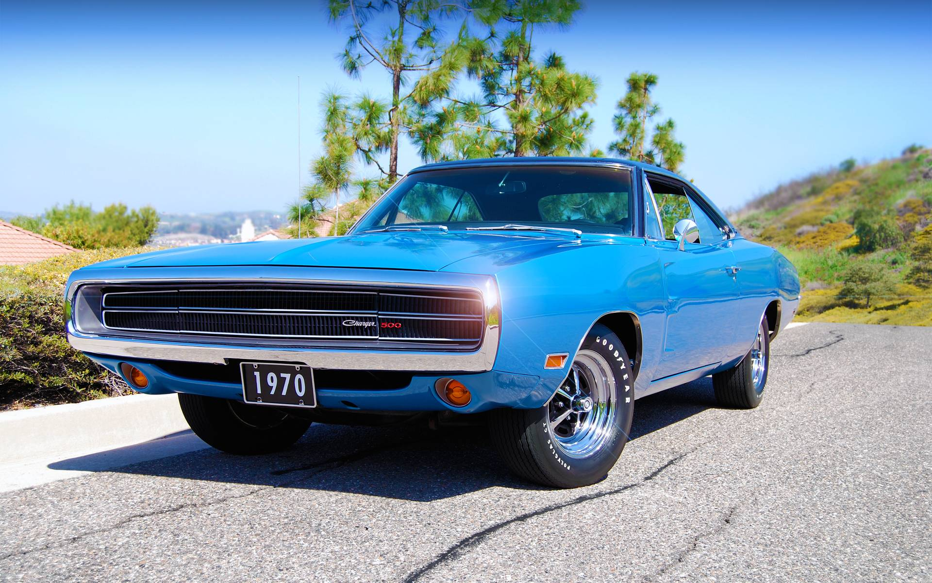 Wallpapers 1970, dodge, charger, 500