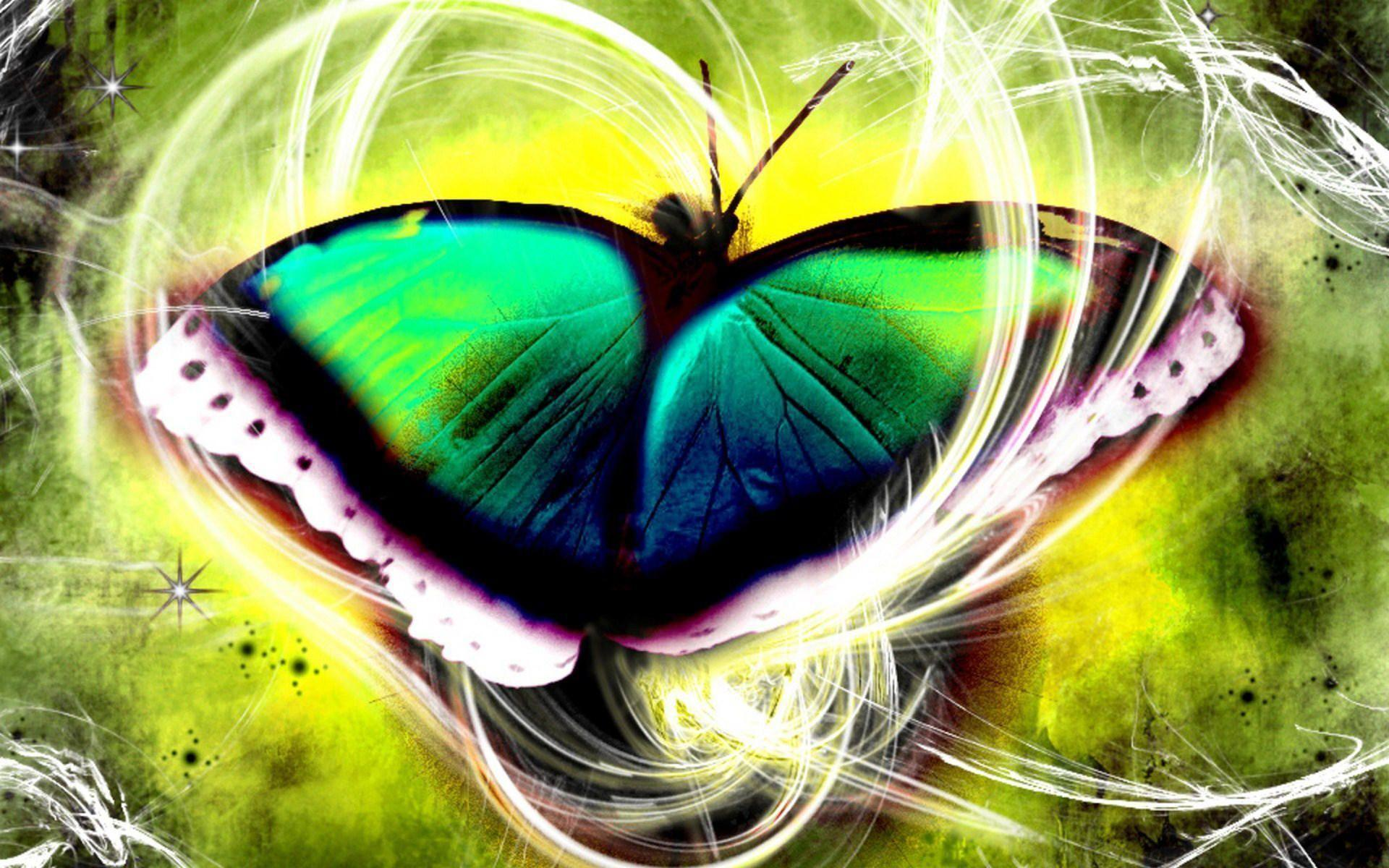 3d butterfly wallpapers wallpaper cave for Fondos tridimensionales
