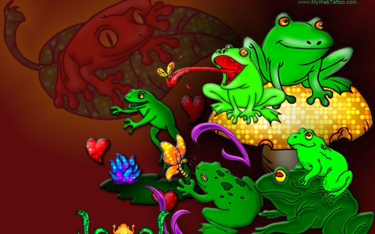 Image For > Froggies Backgrounds