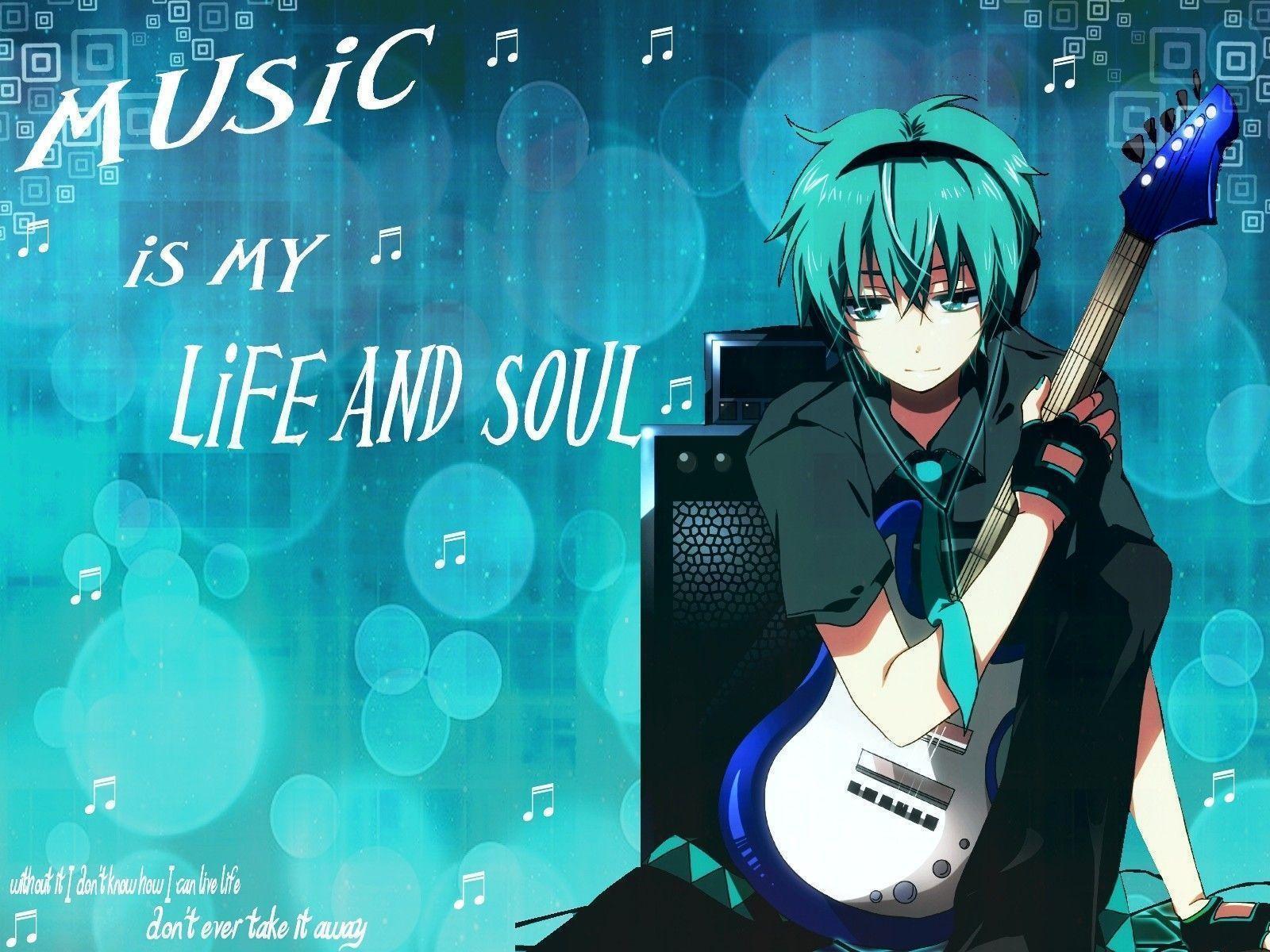 Anime Music Wallpapers
